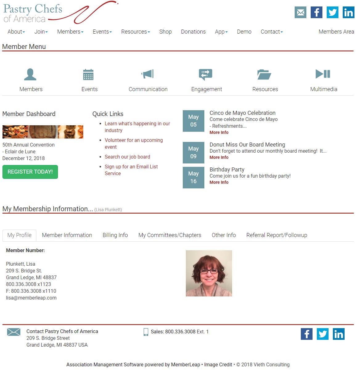 online member portal